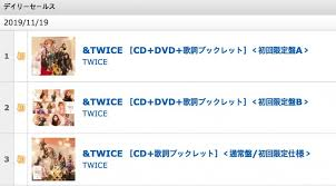 Oricon Chart Ranking Twice Officially Surpasses 7 Million Total Album Sales Mark