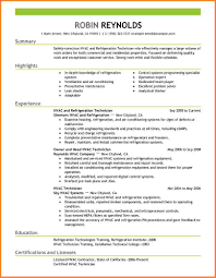 8 Hvac Technician Resume Samples Resume Cover Note