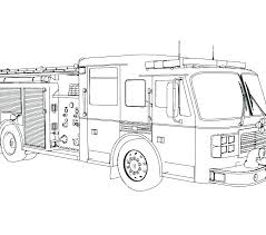 Printable Fire Truck Coloring Pages Coloring Sheets Fire Engine Fire