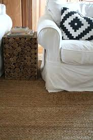 pottery barn chenille jute rug basketweave reviews a really soft option for natural area