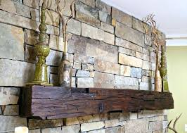 reclaimed wood mantel shelf vintage fireplace mantle hand h
