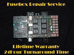 fuse box repair automotive circuit solutions 2003 2006 ford expedition navigator fuse box repair service fuel pump relay