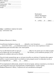 lettre de motivation job etudiant via lesetangsdesvieuxpres fr