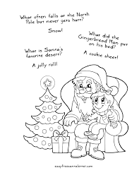 Christmas Coloring Pages Drawn Santa Child Printable 4 Free Letter