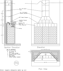 rumford fireplace plans instructions within outdoor fireplace blueprints