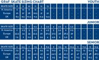 Graf Size Chart Edea Sizing Chart
