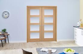 4l oak obscure internal french doors image