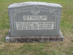 Ada Lenora Clark Stroup (1862-1947) - Find A Grave Memorial