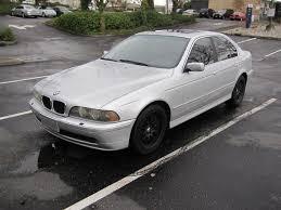 E39 2001 BMW E39 525i sedan AUTOMATIC silver CLEAN TITLE 6 ...