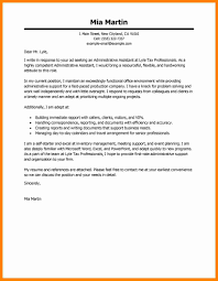 8 Administrative Assistant Cover Letter Example Assembly Resume