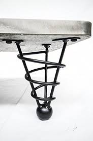 hunt courrier dining table angle handmade furniture modern table legs unique handmade    inch