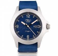 <b>Наручные часы</b> Land Rover Heritage Watch, <b>Silver</b> / Blue