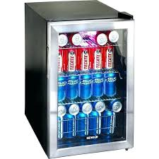 small refrigerator costco mini beverage fridge s glass door refrigerator stainless steel can cooler compact small refrigerator costco