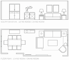 drawing furniture plans. Living Room Elevation Drawing Furniture Floor Plans Plan Your  Space For New Drawing Furniture Plans