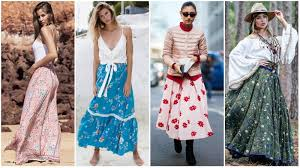 Gorgeous maxi skirts outfits ideas Designs Floral Maxi Skirts The Trend Spotter How To Wear Maxi Skirt For Chic Look The Trend Spotter