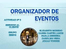 Organizadores De Eventos Organizador De Eventos Actividad 2