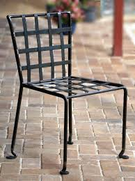 woven metal furniture. Wrought Iron Chair, Woven Metal Furniture A