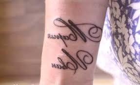 Narození Dítěte Tetování Jména Dětí Vzory