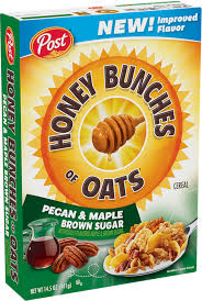 honey bunches of oats pecan maple brown sugar