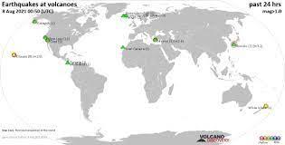 Volcano earthquake report for Monday, 9 ...