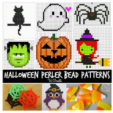 Perler Bead Patterns Custom Halloween Perler Bead Patterns U Create