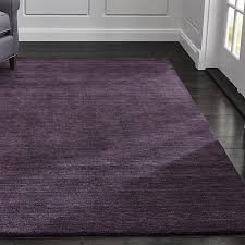 baxter plum purple wool rug crate and barrel plum and green area rugs