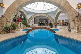 on the market a sprawling underground home built into the earth by a famous architect