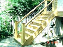 premade stairs outdoor ideas prefabricated exterior steps ready made prefab wooden stair lighting best