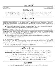 Line Cook Resume Sample Luxury Cook Resume Skills Elegant Resume
