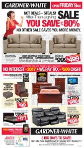 See the Black Friday Steals NOW Gardner White Blog