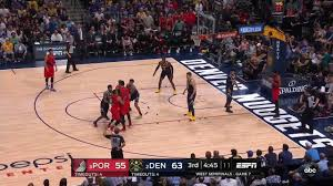 Evan Turner All Game Actions 05/12/19 Portland Trail Blazers vs Denver  Nuggets Game 7 Highlights - YouTube