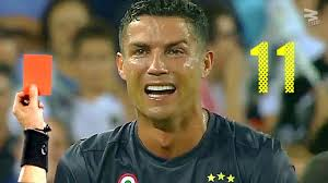 Milan and corinthians before retiring in 2011 having suffered further injuries. Cristiano Ronaldo All 11 Red Cards In Career Youtube