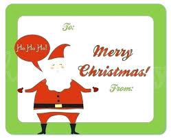 Christmas Gift Labels Templates Word Hand Templates Word Merry Christmas Labels Template