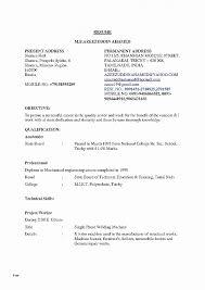 Resume Elegant Mechanical Engineering Resume Templates Mechanical