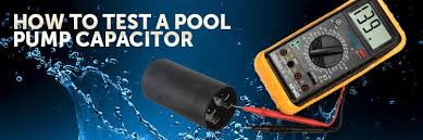 how to test a pool pump capacitor inyopools com Pool Pump Motor Wiring Diagram Swimming Pool Hayward Pump Capacitor Wiring Diagram #32