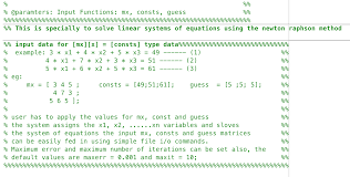 newton raphson matrix form