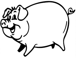 Small Picture Inspirational Pig Coloring Page 52 For Your Coloring for Kids with