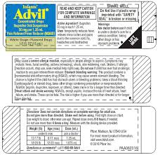 Infants Advil Concentrated Dropsinfants Advil Concentrated