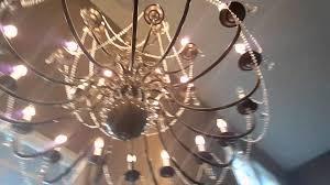diy gold brass chandelier makeover bronze crystal