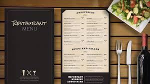 Make A Menu For A Restaurant 4 Strategies That Can Make Your Menu A Star Menu