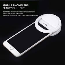 Iphone Light When Phone Rings Newest Universal Mobile Phone Selfie Light Clip On Design Luminous Lamp Led Flash Light Phone Ring For Iphone For Samsung White