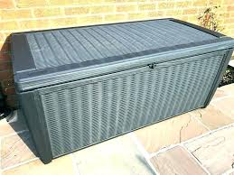 full size of lifetime 80 gallon plastic deck storage box keter novel container outdoor patio furniture