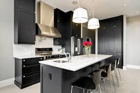 black and white kitchen design ideas - Realizing a Black Kitchen ...