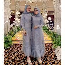 Baju kondangan simple | kondangan adalah sebuah acara yang biasanya merangkap dengan pesta, sehingga baju kondangan identik dengan baju pesta. Baju Gamis Muslim Terbaru 2021 2020 Model Baju Pesta Wanita Kekinian Kondangan Kekinian Gaun Remaja Shopee Indonesia