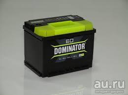 Аккумулятор <b>Dominator 60 Ач</b> обратная, прямая полярность ...