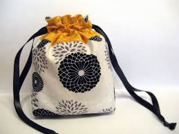 Drawstring Bag Pattern Unique Crafting Mini Drawstring Bag