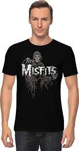 <b>Футболка классическая Printio Misfits</b> band #677982