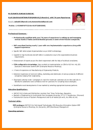 9 Experience Cv Format Producer Resume