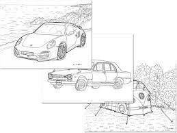 画像 28 車のぬりえを無料ダウンロード自動車好きの子供も大人にも