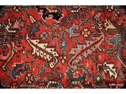 large antique persian heriz rug circa 1930 s authentic oriental rug